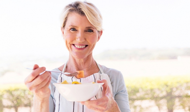 alimentation ménopause