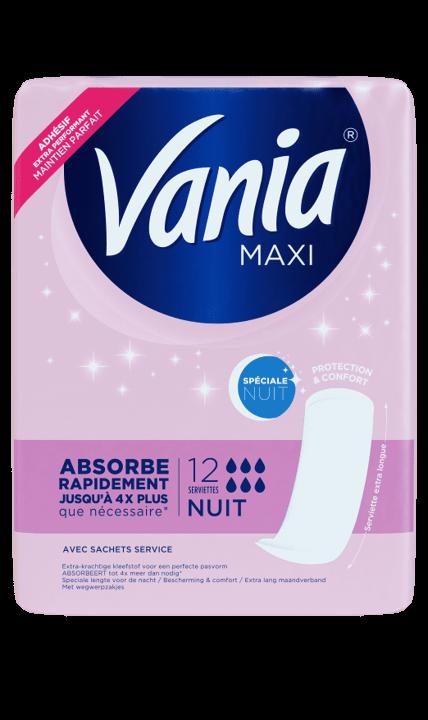 Vania serviette maxi nuit