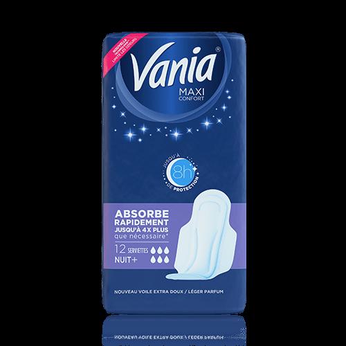 serviettes vania maxi nuit
